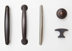 Ridgewood Closets door handle options
