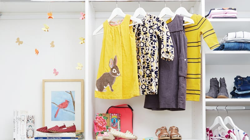 new closet and how to organize it