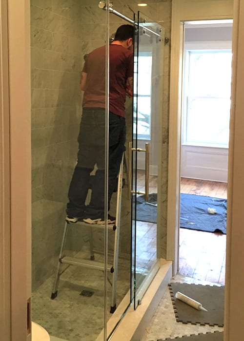 sliding-shower-door-shower-installation
