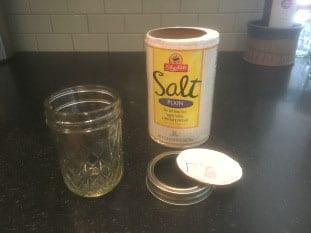 Salt shaker fromMason Jar