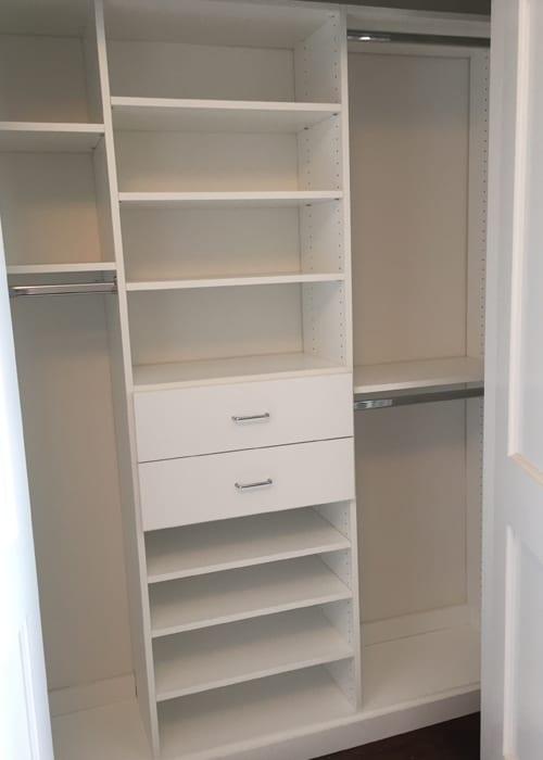Elegant View Larger Image Ridgewood Closets White Reach In 4