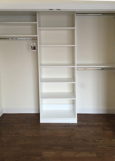 Ridgewood Closets white reach-in 3