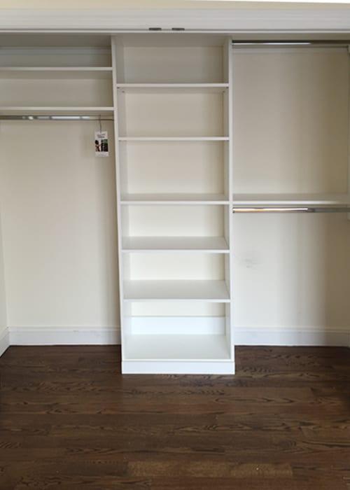Ridgewood Closets white reach-in 3