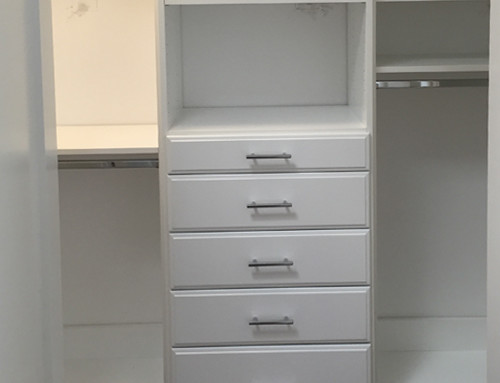 Ridgewood Closets white reach in