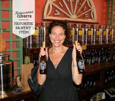Alma Schneider favorite pantry item olive oil